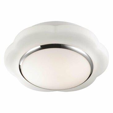 Влагостойкий настенно-потолочный светильник Odeon Light Baha 2403/1C.